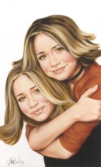 Ashley Olsen, Mary-Kate Olsen by pambush65